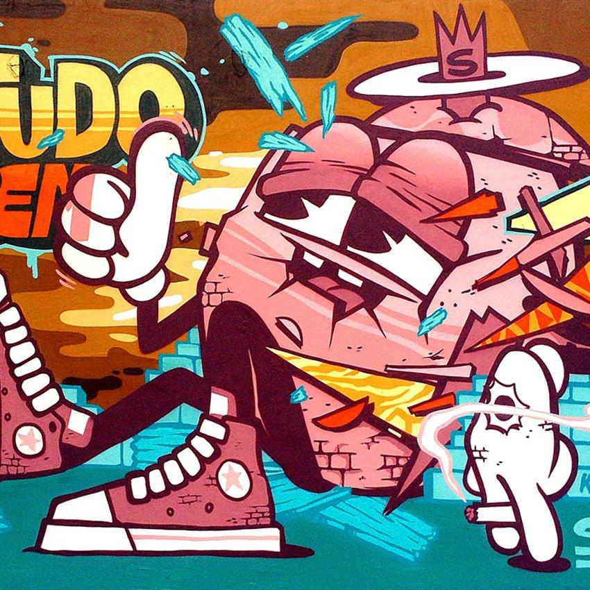123klan graffiti
