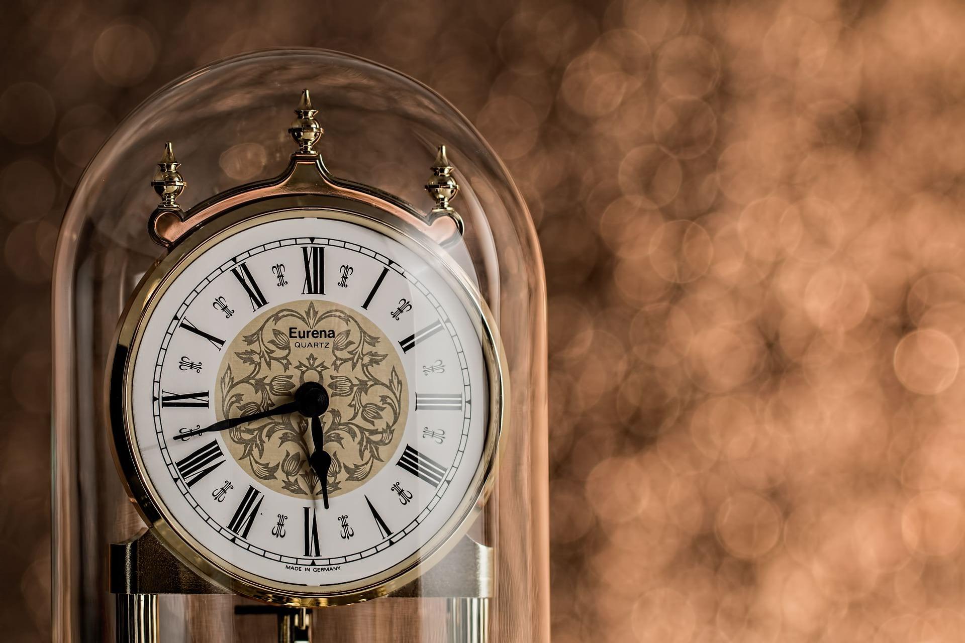 Antique Clock Image